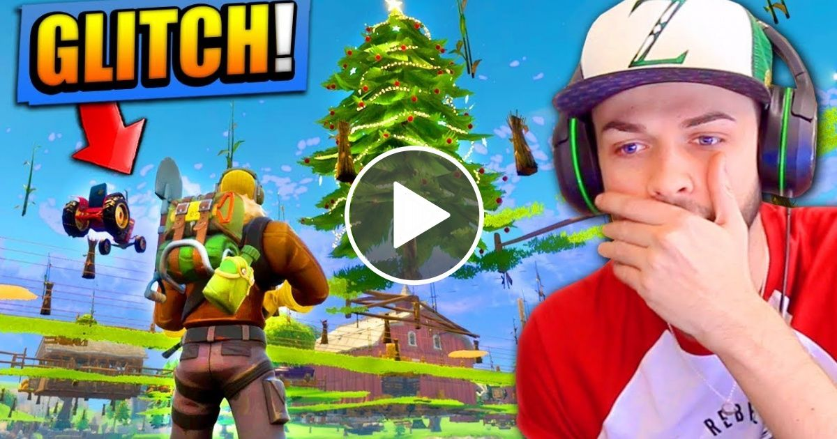 Game Breaking Glitch In Fortnite Battle Royale Under The