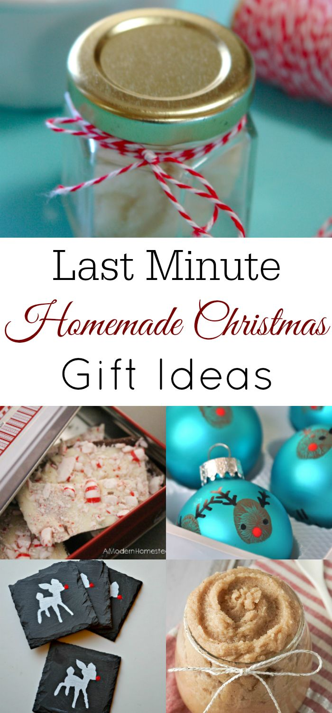 Last Minute Homemade Gift Ideas | Pinterest | DIY Christmas, Retro ...