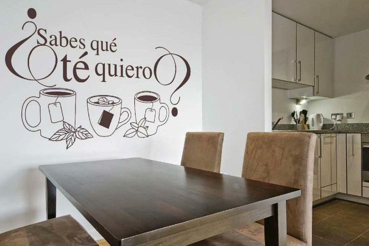 Decorar una pared con letras y vinilos decorativos - Paredes pintadas originales ...
