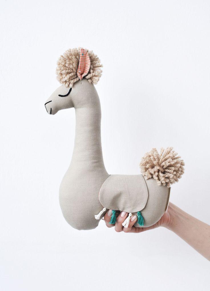 Delight Llama Stuffed Animal Toy for Zoo Nursery Llama