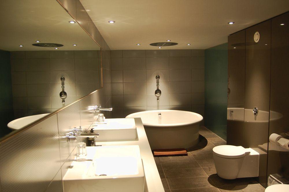 Deckenbeleuchtung Badezimmer ~ Badezimmer die richtige beleuchtung wohnen & einrichten pinterest