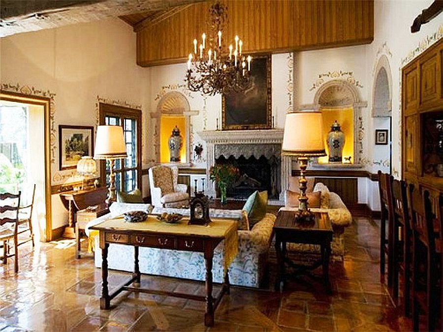 Spanish Interior Spanish Colonial Revival