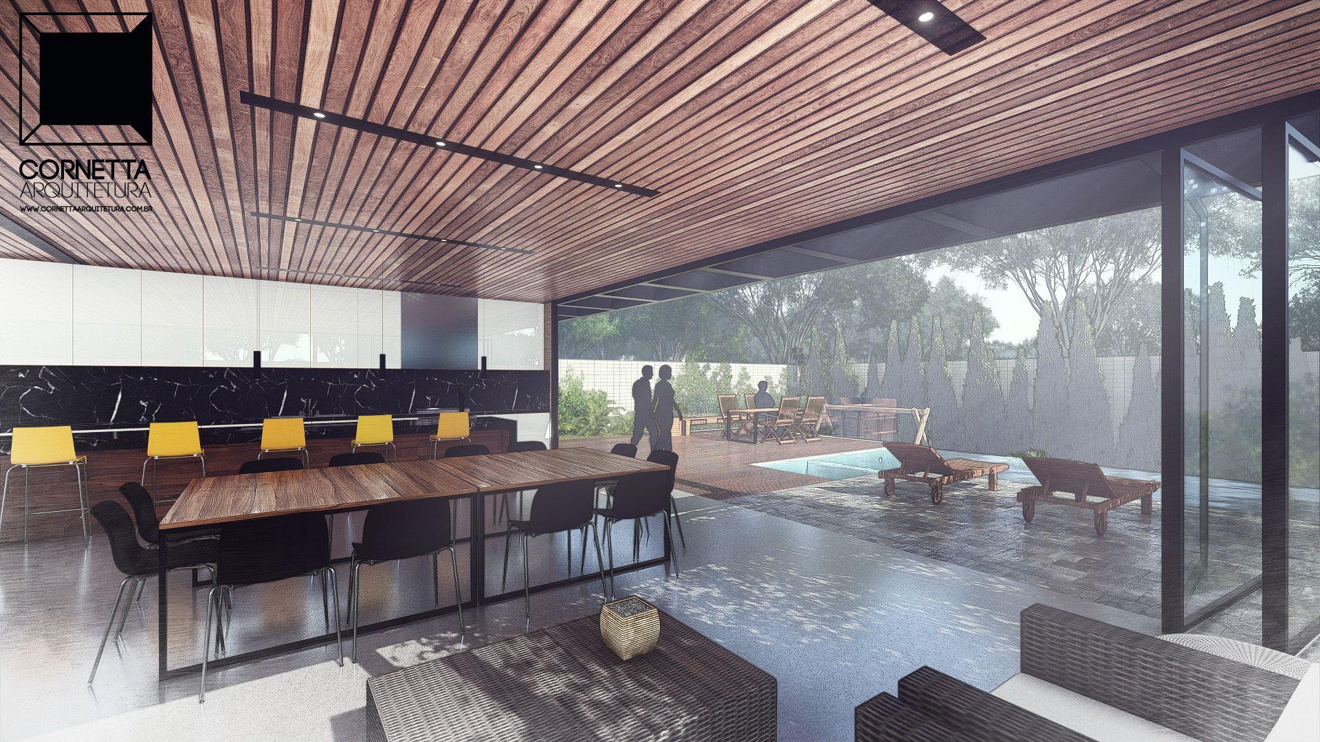 Casa Lg Arquitetura Decking And Grey Houses