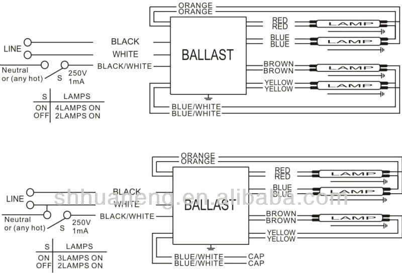 42++ Ballast wiring diagram info