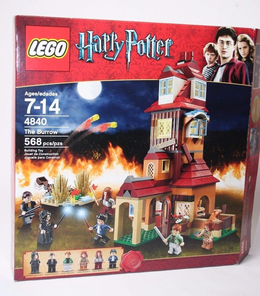 MADE OF GENUINE LEGO PARTS LEGO HARRY POTTER BILL WEASLEY MINIFIGURE /& DRAGON