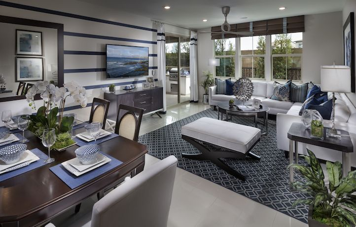 Melody Residence 1 Living Space New Homes Real Estate Lennar