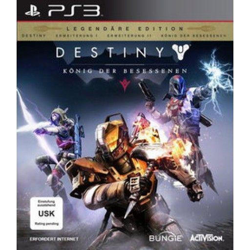 Destiny: König der Besessenen  Legendäre Edition  PS3 in Actionspiele FSK 16, Spiele und Games in Online Shop http://Spiel.Zone