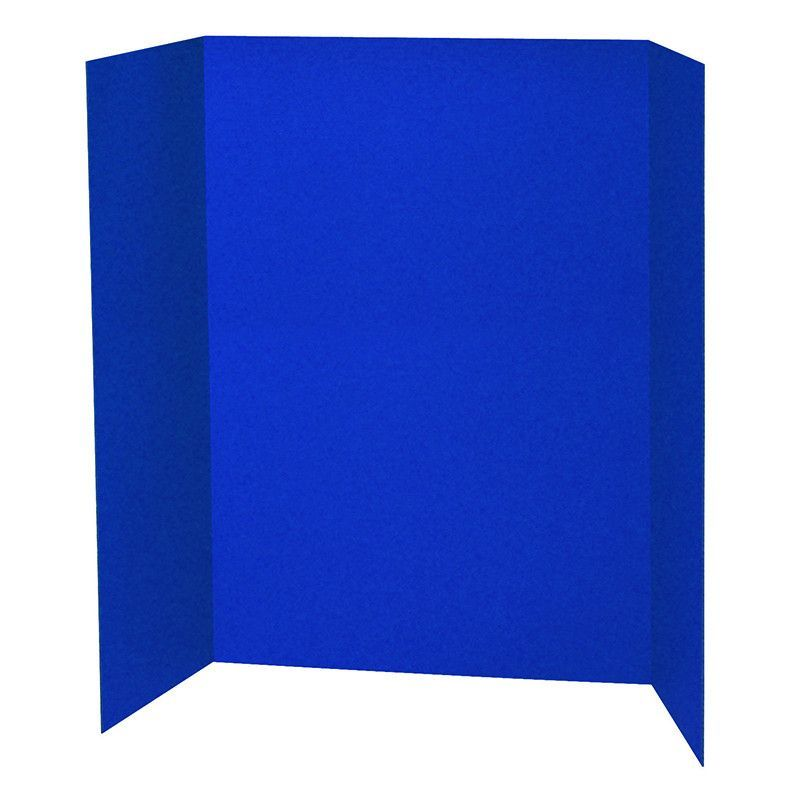Blue presentation board 48x36 Board, Display boards and Graduation