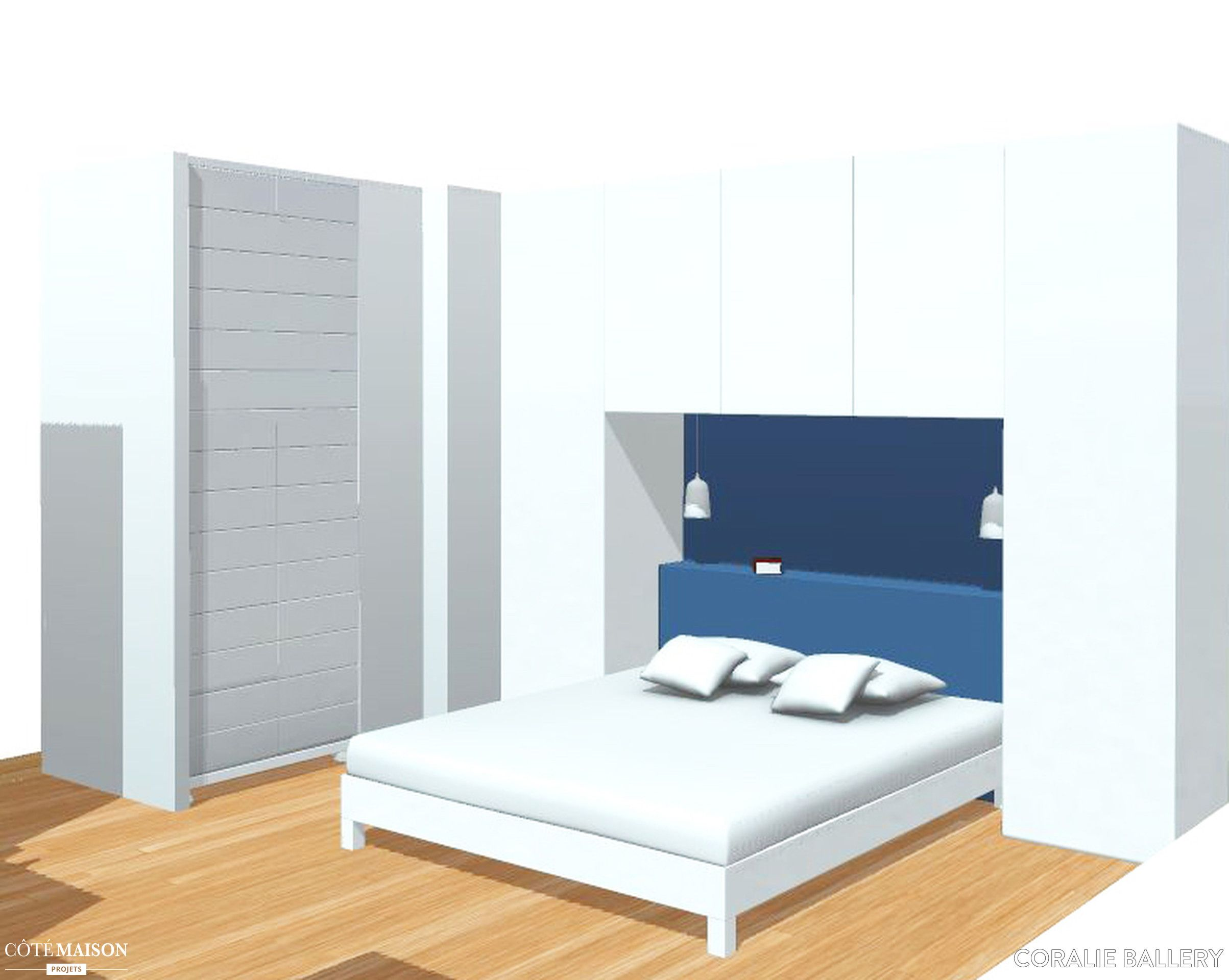 cration et ralisation sur mesure un pont de lit dressing modern bedroom design - Pont De Lit Design