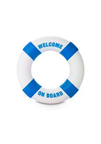 S-Line S-Line - Buoy Welcome On Board Blau - Penisring