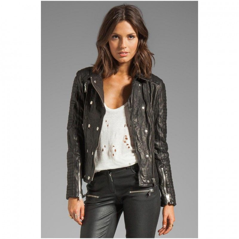 Leather Coats For Women 5