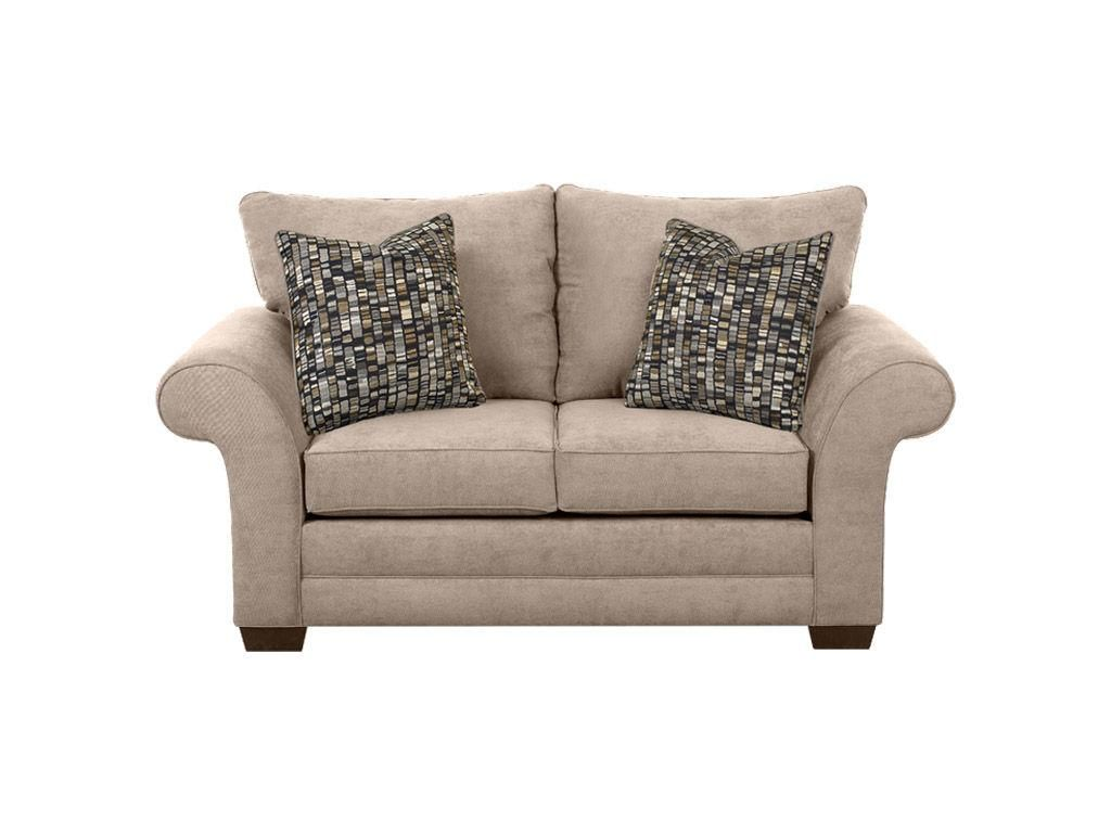 Klaussner Living Room Loveseat E76900 LS   Klaussner Home Furnishings    Asheboro, North Carolina