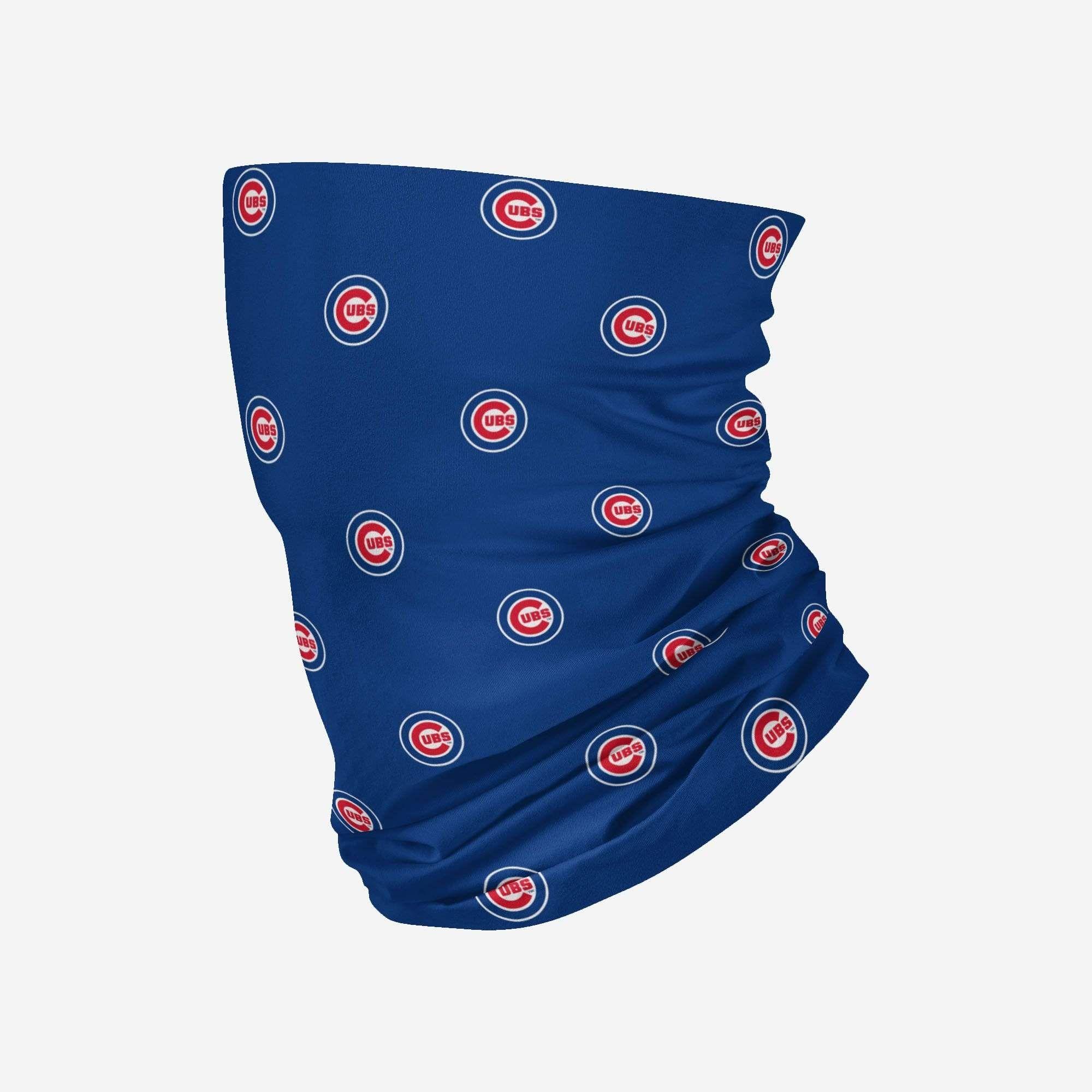 Chicago Cubs Mini Print Logo Gaiter Scarf