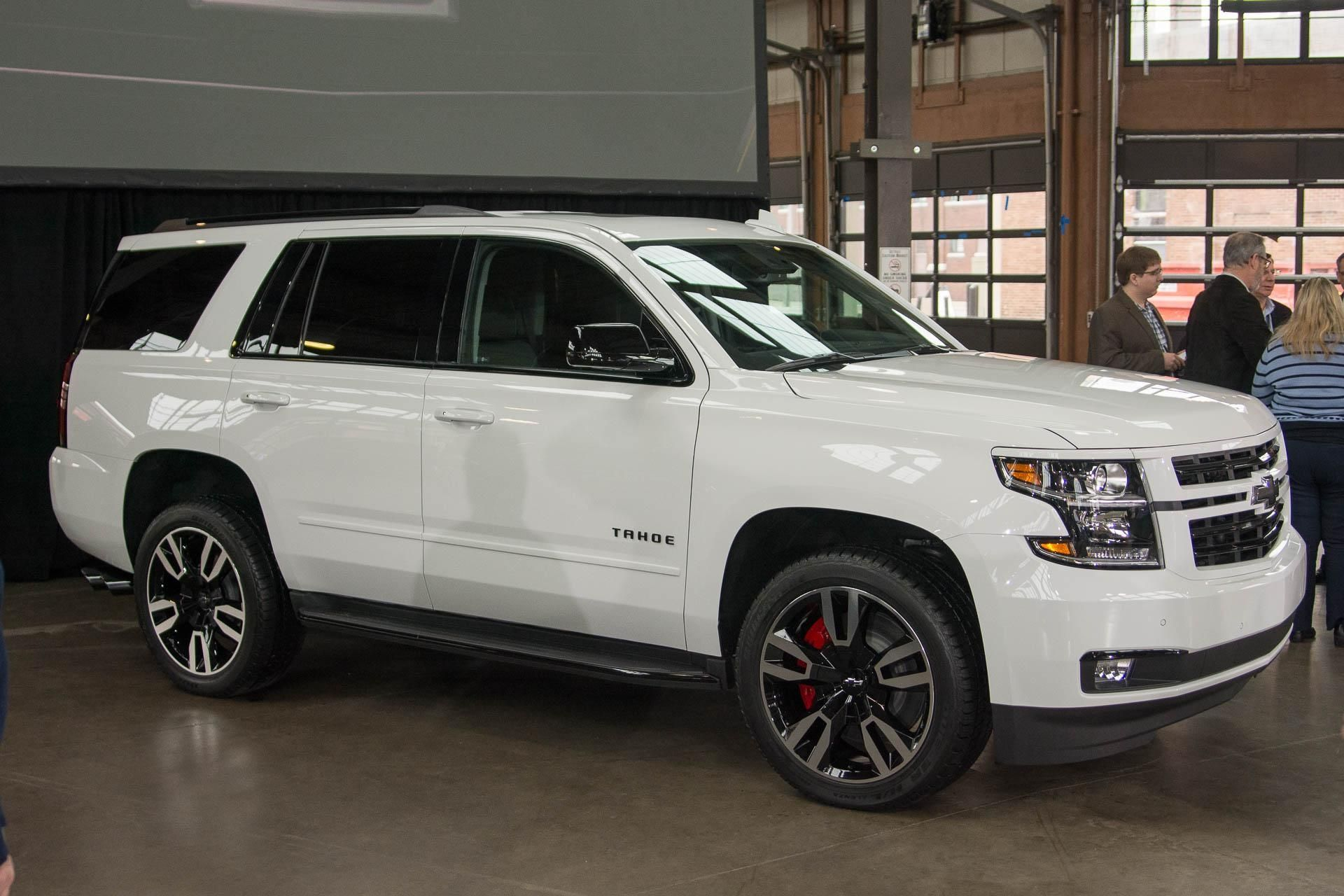 2018 Chevrolet Tahoe Suburban Rst Are 420 Hp Frat Boy Specials