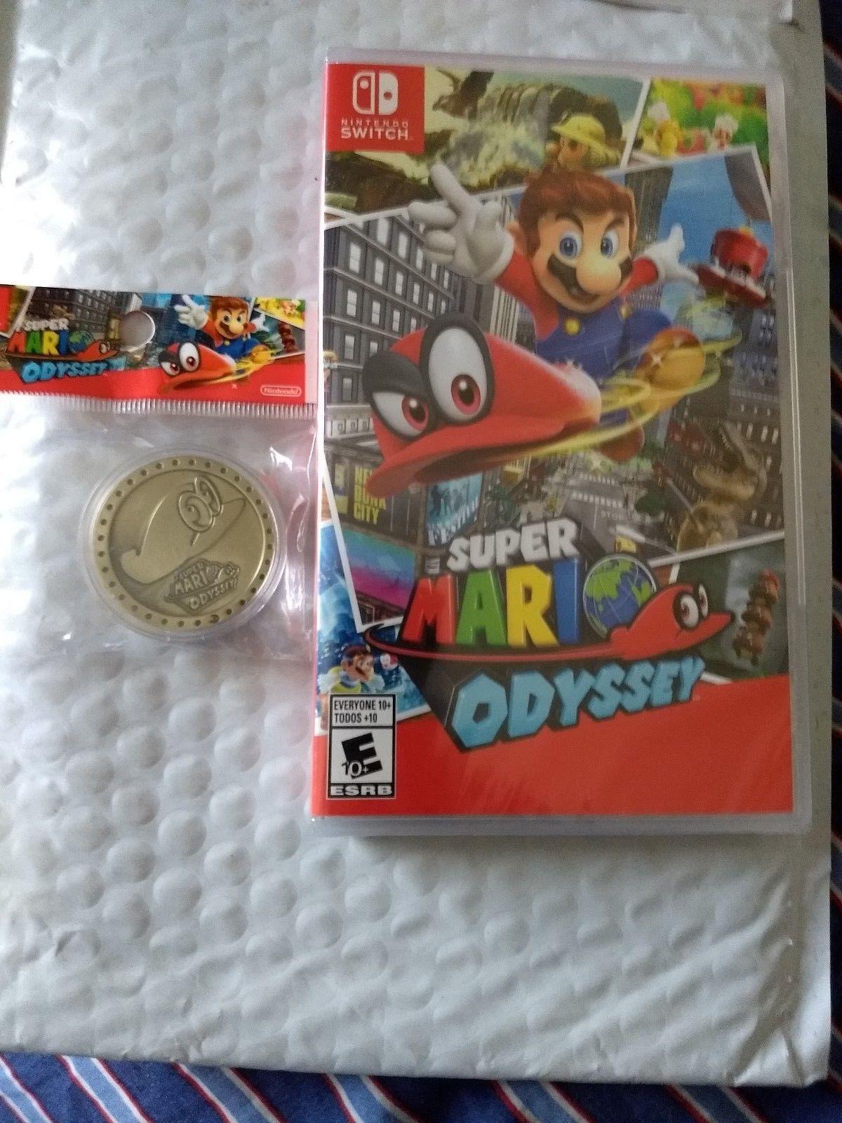 BRAND NEW Nintendo Switch 32GB Super Mario Odyssey
