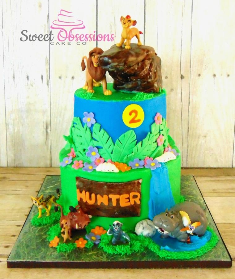 The Lion Guard Cake by Sweet Obsessions Cake Co birthday stuff