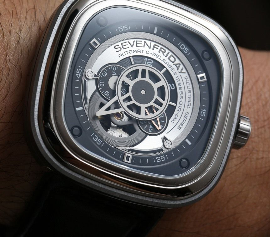 wristwatch watches watch sevenfriday pin industrial pinterest