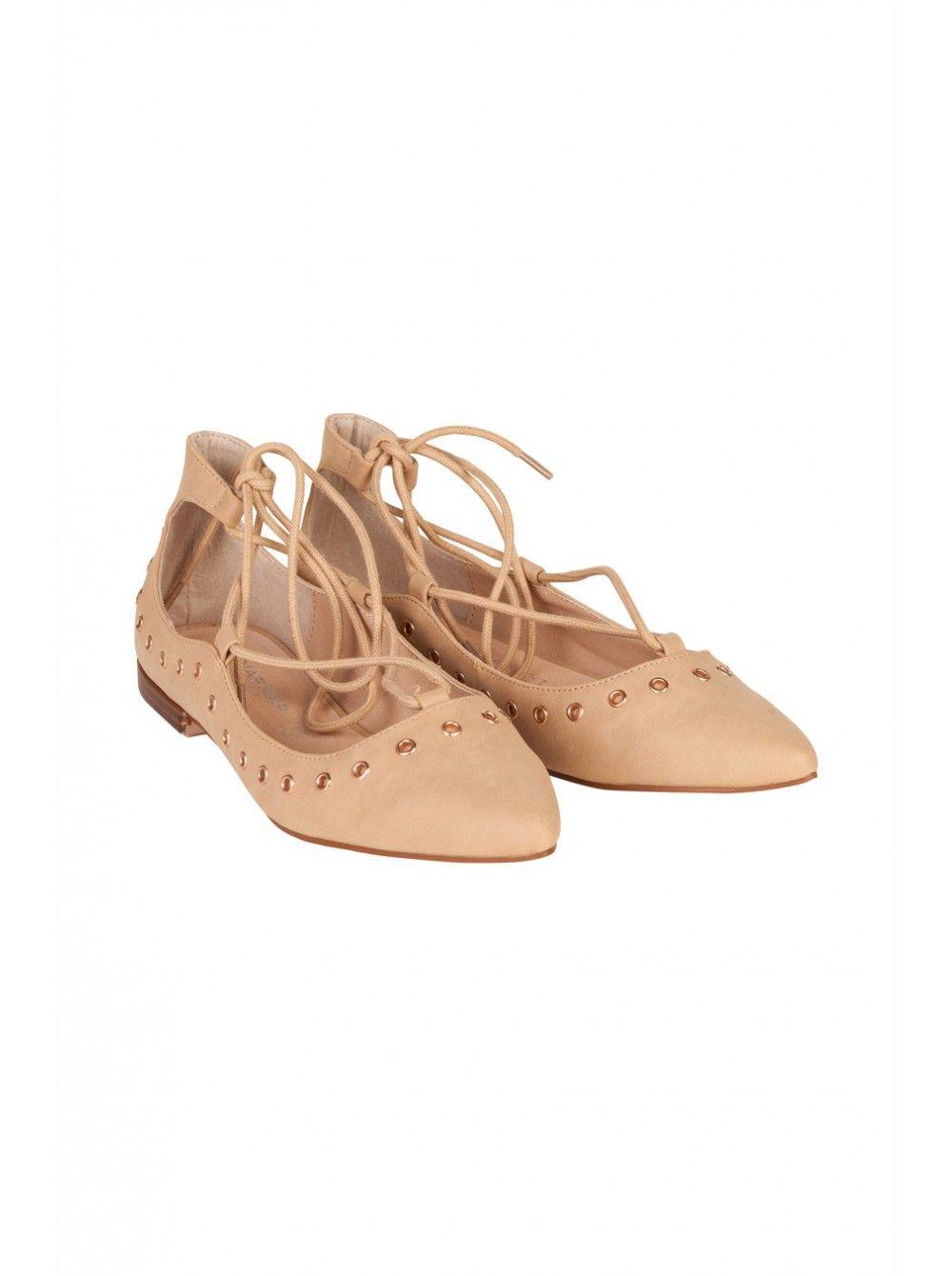 femmes Spot On synthétique à lacets imprimé Marguerite chaussures