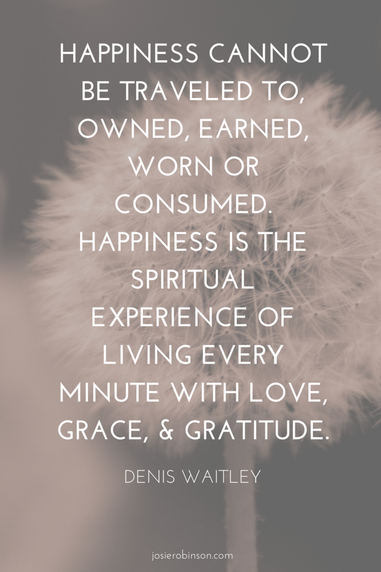 Inspirational Quotes About Happiness: 10 Inspirational Quotes About The Power Of Gratitude