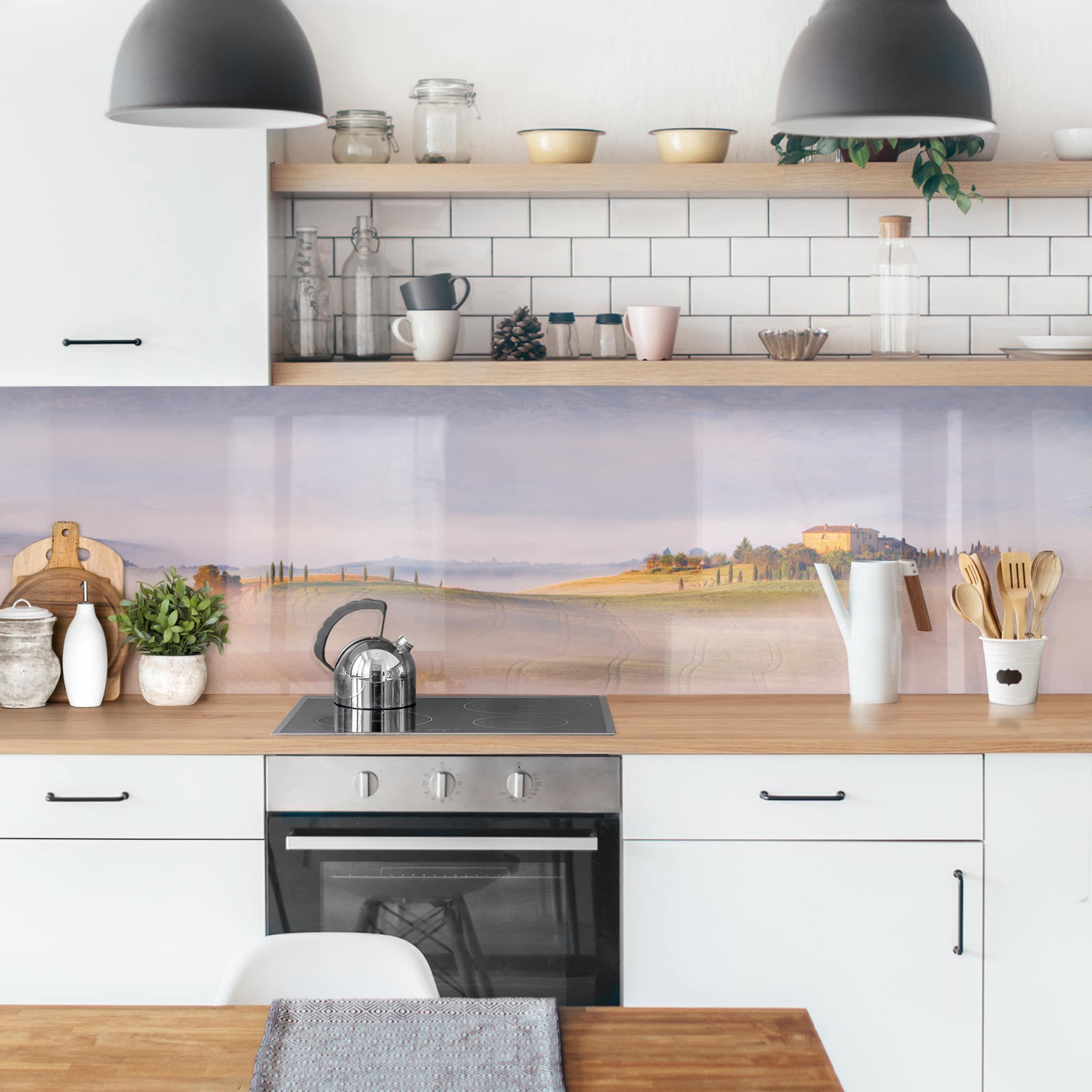 Rivestimento cucina - Cipressi Lungo La Strada | Piastrelle ...