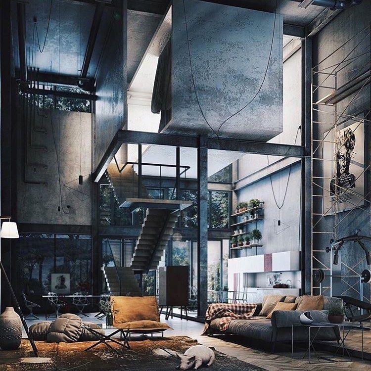 Loft Dos Sonhos Betonindesign Arquitetura Decor Decoracao Decoracao Dec Loft Living Space Interior Architecture Design Loft Living