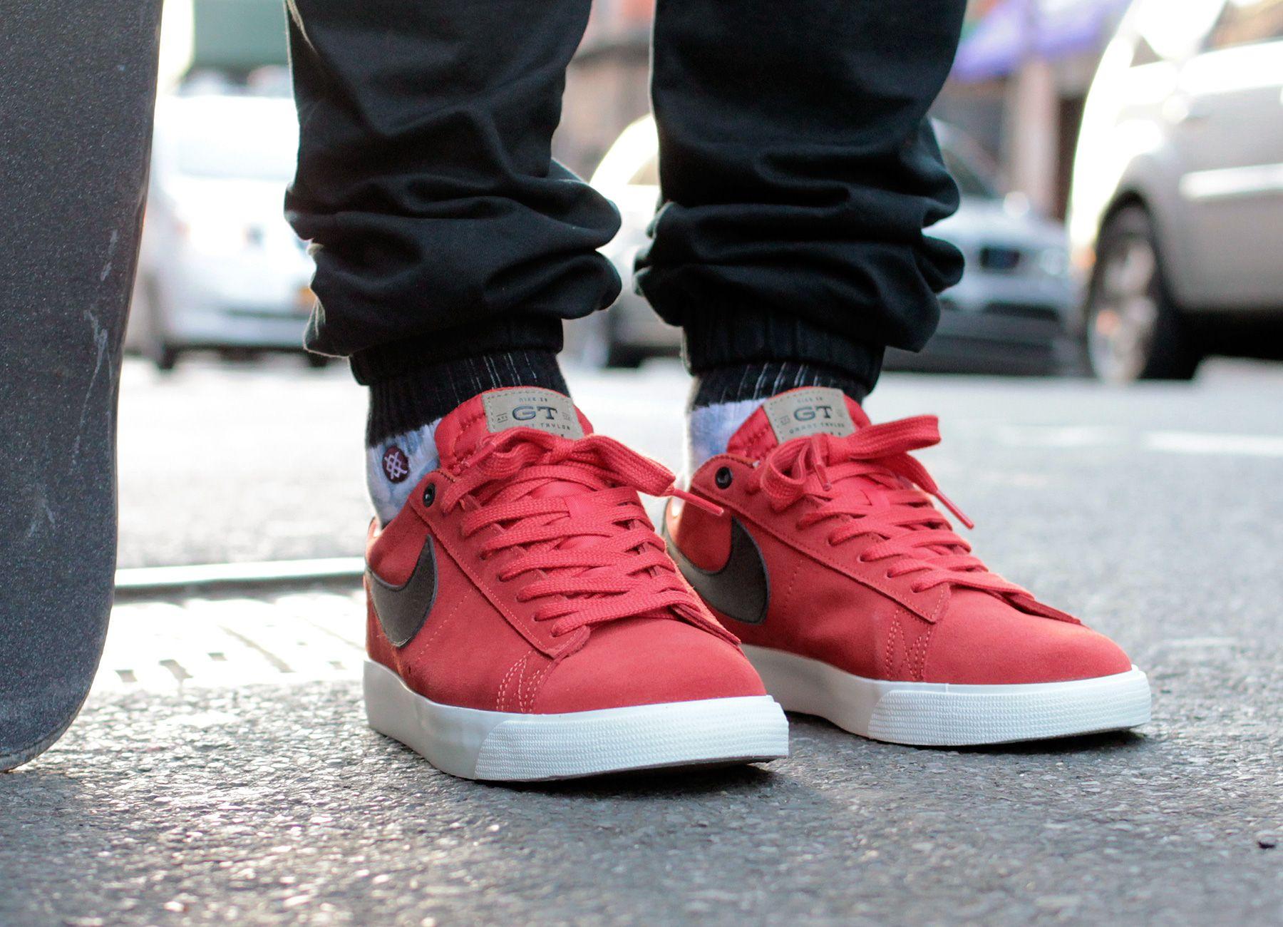 Nike Blazer Low On Feet
