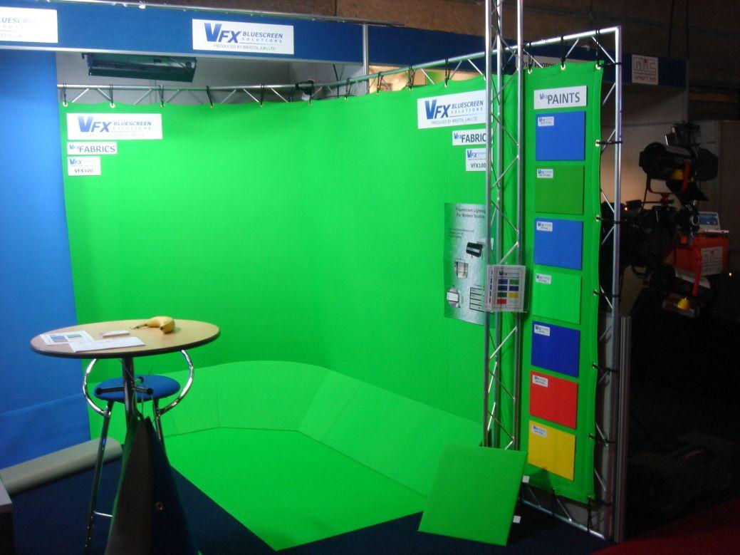 Chromakey Set For Media Room Chroma Key Green Screen Setup