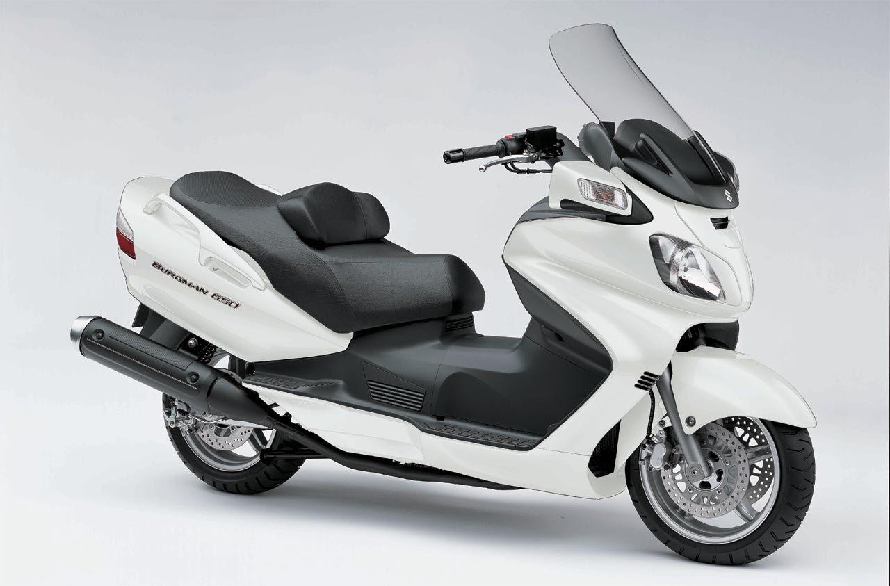 Suzuki bergman 650 maxi scooter i want one
