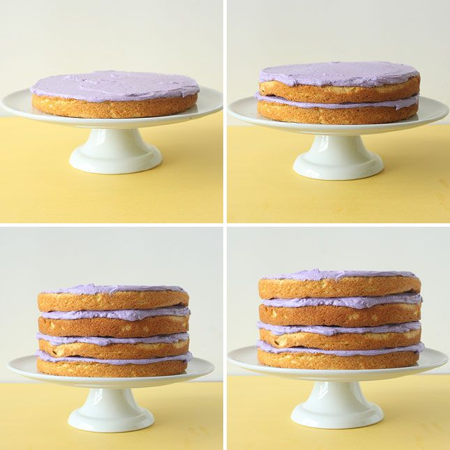 Grab a Slice of Our Lemon Lavender Champagne Cake | Champagne cake ...
