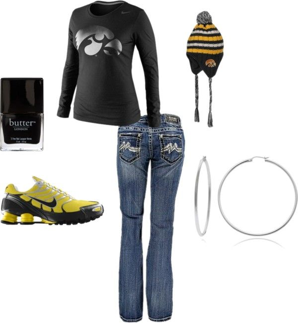 """game day"" by mrstown on Polyvore"