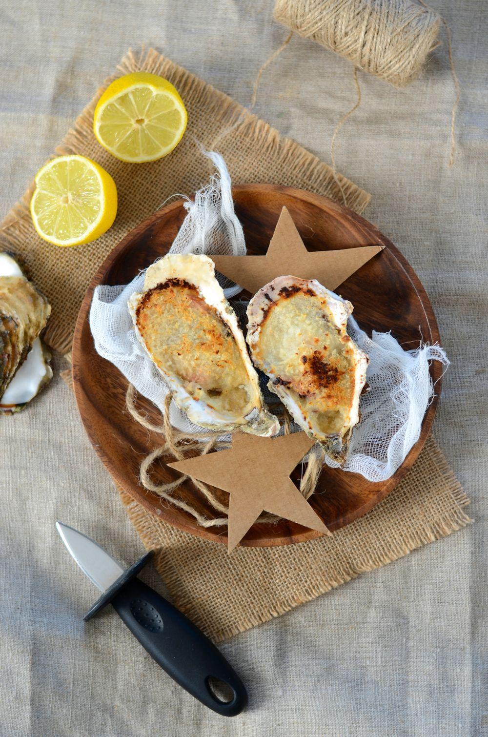 Huîtres chaudes gratinées au four | Recette | Huitre ...
