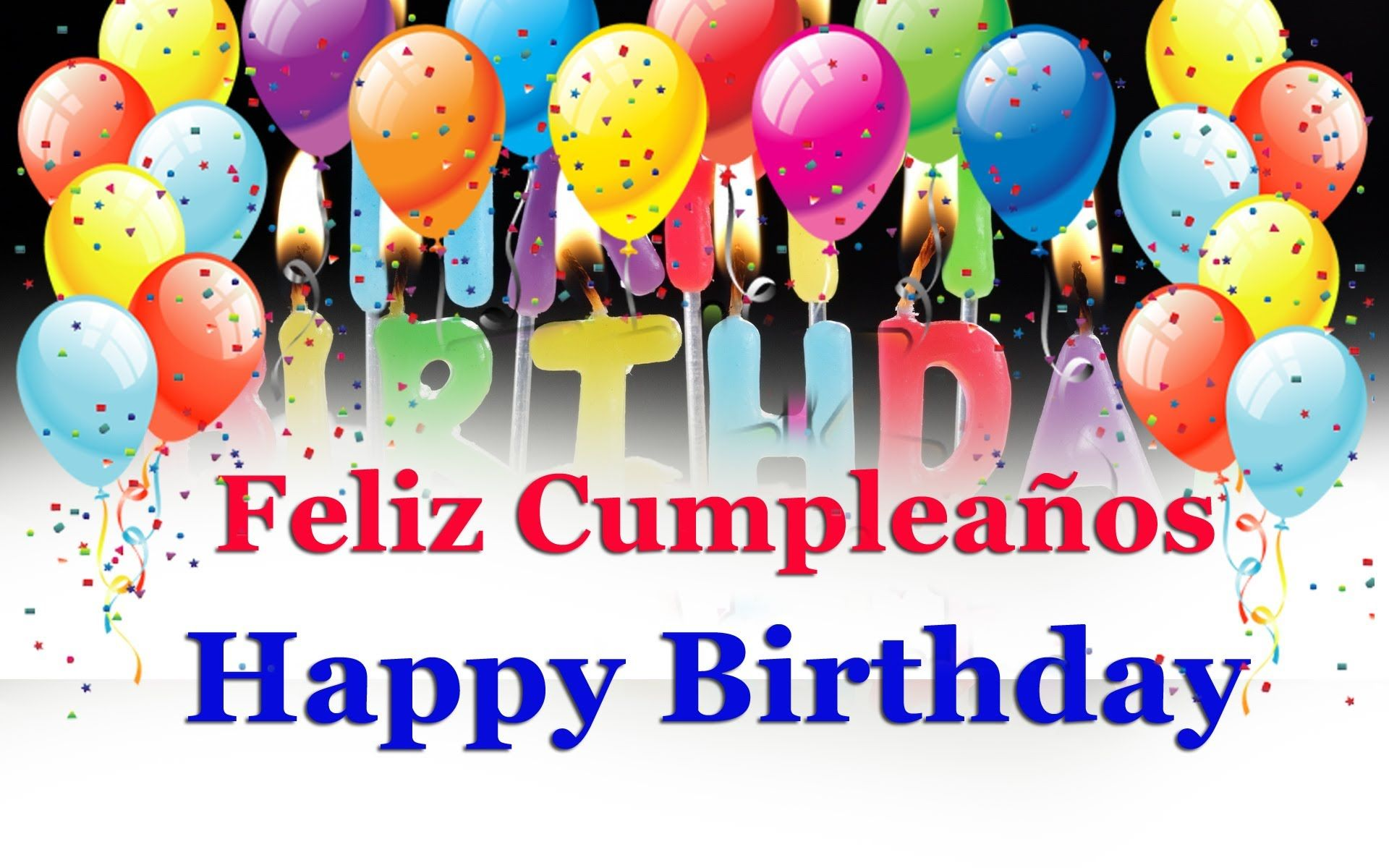 In spanish pictures birthday happy