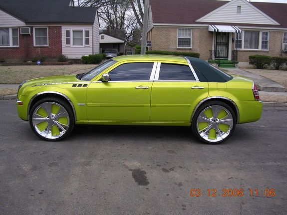 Nice Cars Ruined By Whack Paint Jobs And Rims With Images