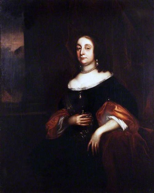 Elizabeth Bourchier Cromwell, b.1598 d.1665, daughter of Sir James Bourchier & Frances Crane, wife of Oliver Cromwell. Nine children.