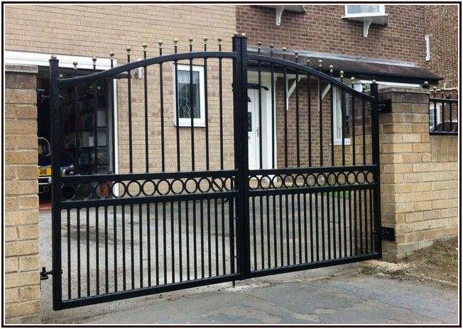 Supernormal Used Wrought Iron Gates For Sale Dengan Gambar