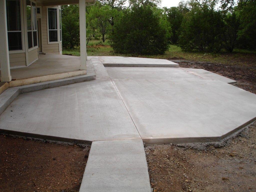 Perfect Concrete Patio DesignsEdition Chicago Edition ... on Simple Concrete Patio Designs id=57279