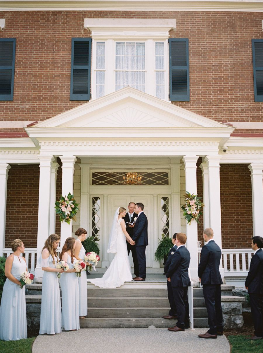 Outdoor Nashville Mansion Wedding in 2020 Tennessee