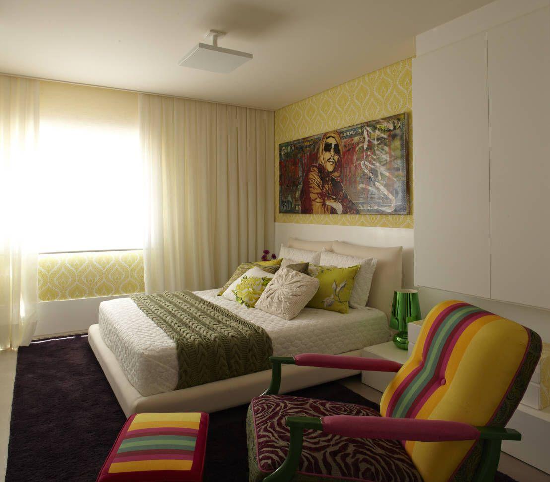 Apartamento em Perdizes : Quartos modernos por Lovisaro Arquitetura e Design