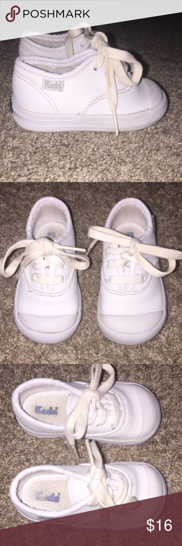 45351544a51448 Cute Baby Keds size 4 Wide sneakers First Walker The Keds Toddler Champion  is just like mom s