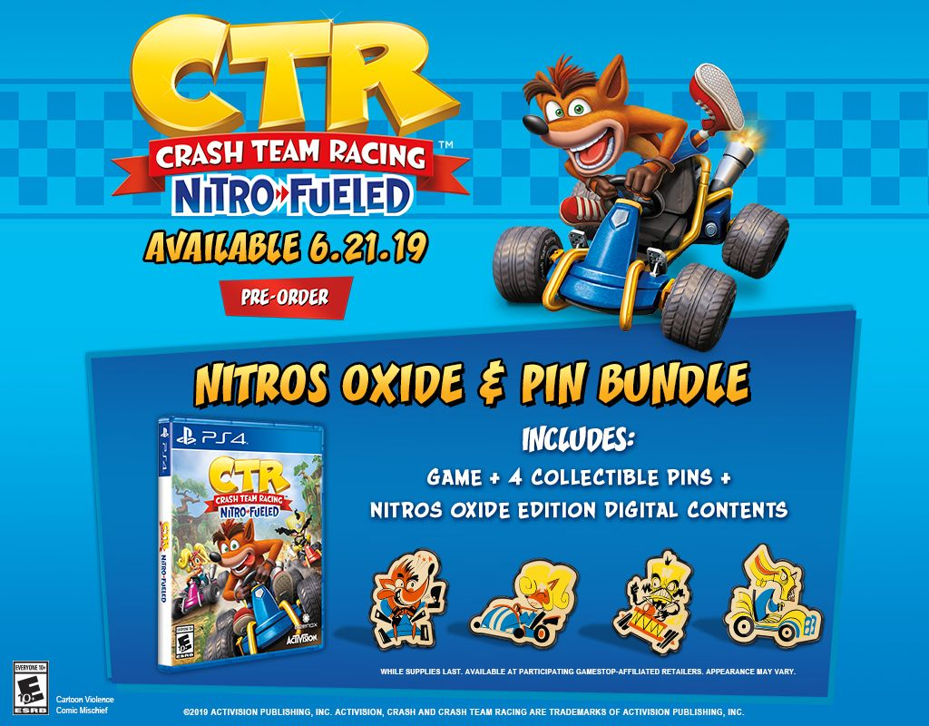 Crash Team Racing | db-Technology™ | Crash team racing, Nitro fuel