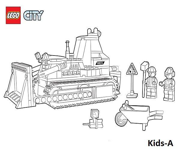lego city-5 | ausmalbilder, weihnachtsmalvorlagen
