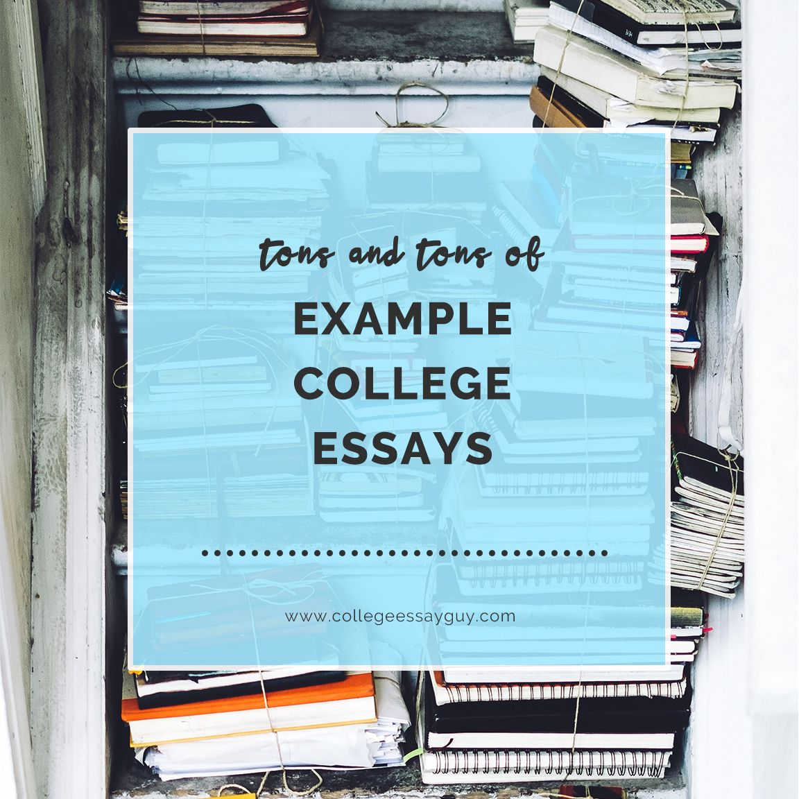 Twelve College Essay Examples That Worked   Essay Examples