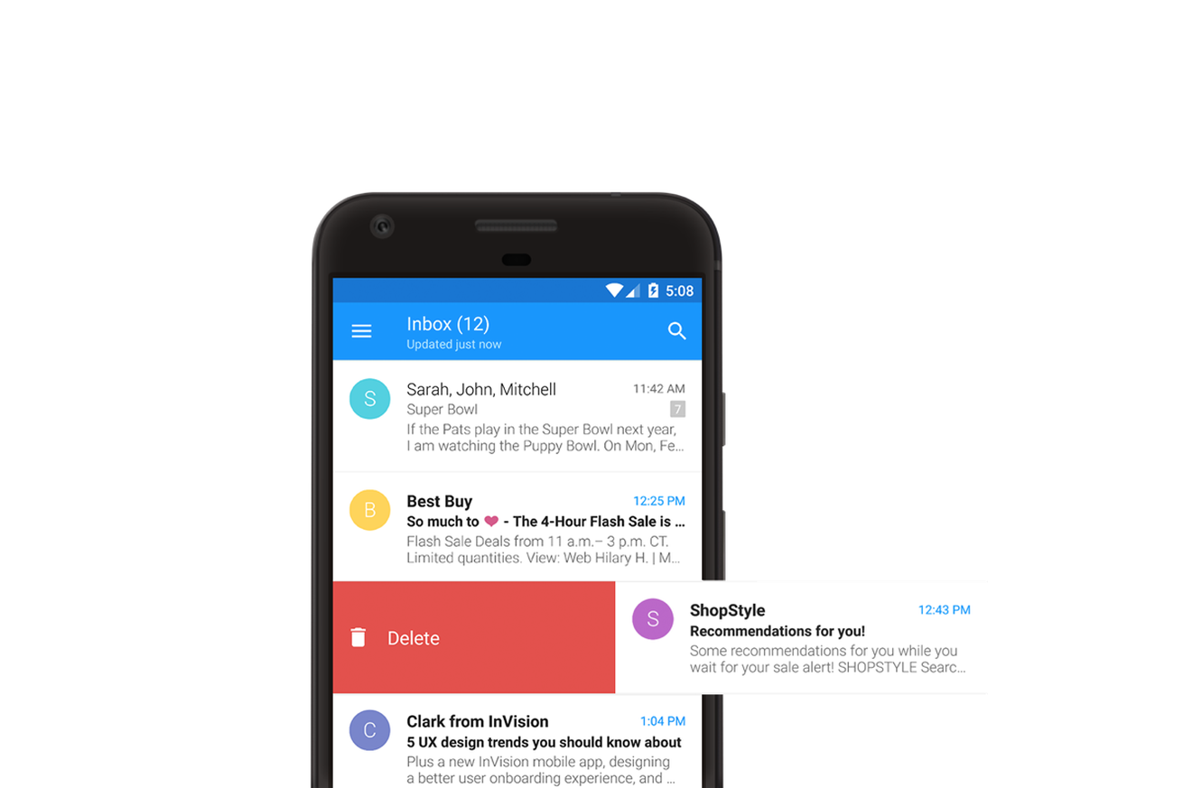 One of the best email apps on iOS comes to Android Email