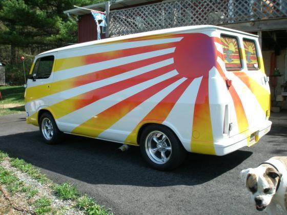 Moon Lite Vans Inc Vanning vintage vans | Custom vans