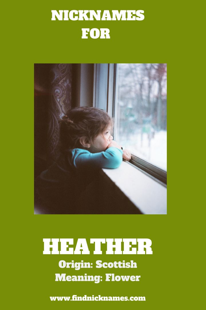 30 creative nicknames for heather find nicknames in