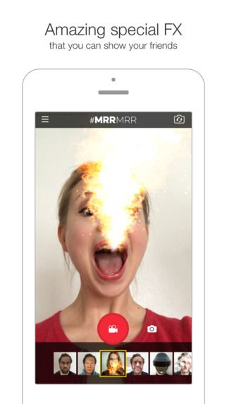 MRRMRR - Live Filters & Face Swap Masks for Video Selfies by I Love