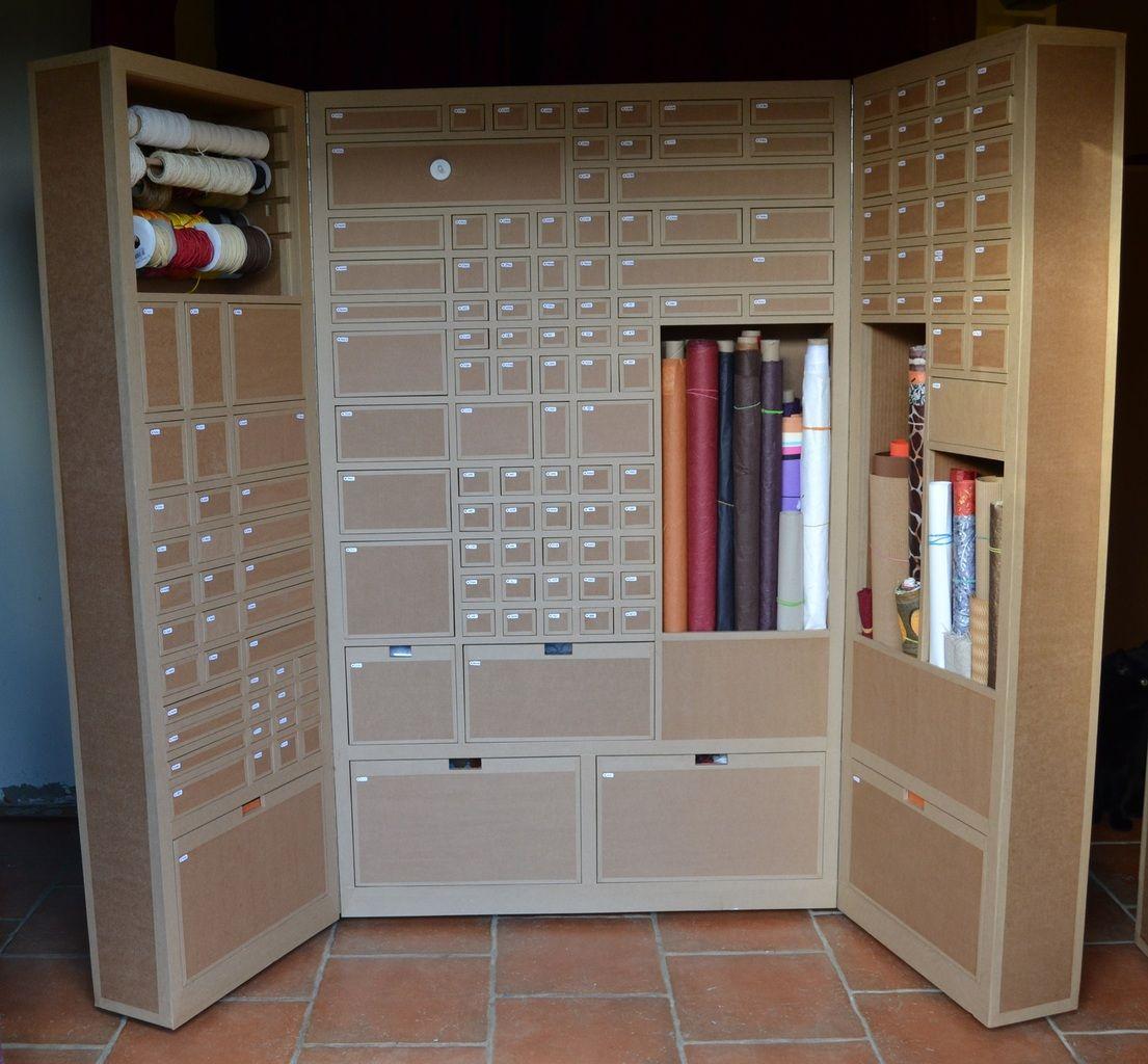 Armoire En Carton Pour Materiel D Atelier Creatif Sg Mobilier Carton Angers Mobilier En Carton Meubles En Carton Mobilier De Salon