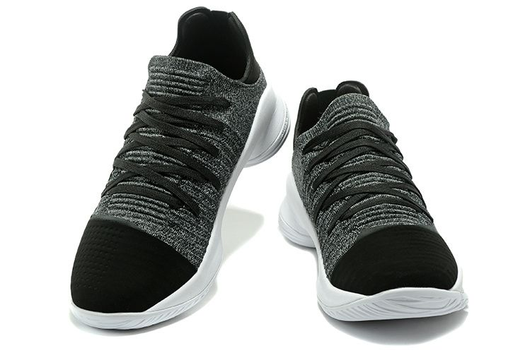 "eeafeed1631 2017 Cheap Under Armour Curry 4 Low Oreo""Black White For Sale-2 ..."