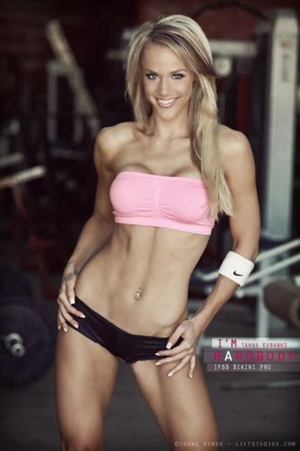 Tawna Eubanks sexy fitness model