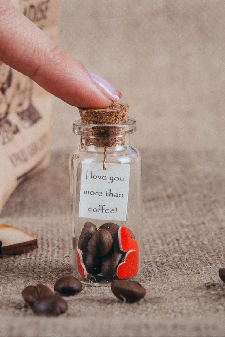 Romantic gifts for him Coffee lovers gift Personalized